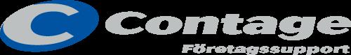 Contage logo gray